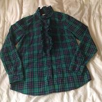 Womens Vineyard Vines Plaid Shirt Size 8 Photo