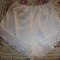 Womens-Vintage-Avon-Beige Panties-Size 7-New-60's-Lace-Unique-Rare Photo