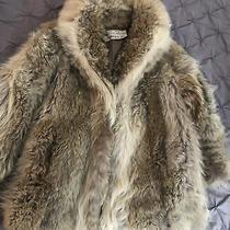 Womens Vintage Oscar De La Renta Fur Coat  Photo