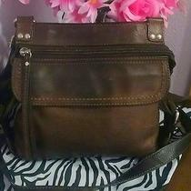 Womens Vintage Small Brown Leather