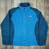 Womens Vintage the North Face Fleece Jacket Blue Size L Photo