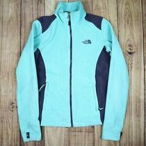 Womens Vintage the North Face Fleece Jacket Blue Size Xs Photo