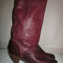 Womens Vtg Frye Boots Size 8.5 Photo