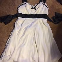 Womens White Dress Medium Photo