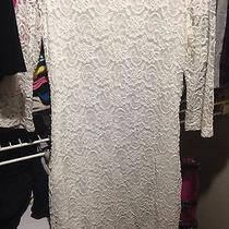 Womens White Lulus Dress Photo