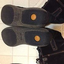 Womens Winter Insulated 10 Medium Black Long Suede Leather Timberland Boots Shoe Photo