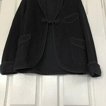 Womens Wool Armani Dark Blue Blazer Lovely U.s Size 8 (100% Authentic) Photo