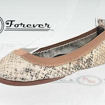 Womens Yosi Samra 'Samara' Snake Print Leather Ballet Flats/ Shoes Sz. 6 Photo