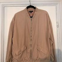 Womens Zara for Trf Blush Pink Zip Up Bomber Jacket Coat Size Medium Photo