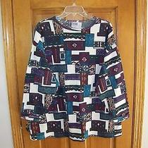 Womenst Thermo Design Top Size 22w or 3x or 42 Extra Elements Bright Colors   Photo