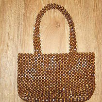 Wood Beaded Hand Bag  the Sak Photo