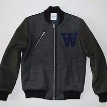Wood Wood Church Bomber Jacket Wool Supreme Acne Norse Size S Photo