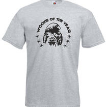 Wookiee of the Year Star Wars Inspired Men's Printed T-Shirt Photo