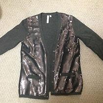 Wool Cardigan Sweater With Sequins Photo