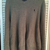 Wool Ralph Lauren v Neck Sweater Photo
