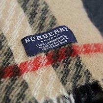 Wool Scarf Burberry Original Photo
