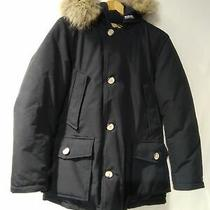Woolrich Arctic Parker Dark Navy Men's Down Jacket P0309 Photo