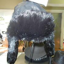 Woolrich Bomber Lamb Skin and Rabbit Fur Black Medium Photo