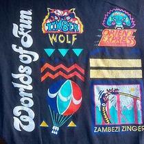 Worlds of Fun Kc Tshirt Zambezi Zinger Roller Coaster Orient Express Timber Wolf Photo