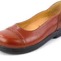 Worn Once Birkenstock Footprints Sz. 36 Eu 5.5 Us Flats Loafers Chestnut Leather Photo