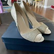 Worn Once Cole Haan Antonia Ot Pump Gold Silver Glitter Size 7 B Photo