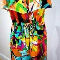 Worn Once Excellent Condition Size 12 Marks and Spencer Floral Summer Dress Photo