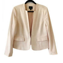 Worthington Blush Pink Womens Blazer Size 14 Photo