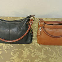 Wow 2 Fossil Leather Purse Handbags 12