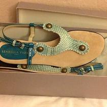 Wow Isabella Fiore Exotic Sandals Spring Summer Perfect Made in Italy Size 7.5 Photo
