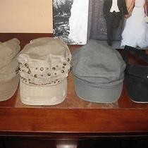 Wow Ln Ladies Hat Collection Forever 21 Billabong Lot Photo