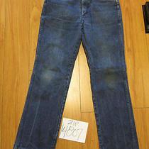 Wrangler 936den Grunge Jean Tag 34x31 Meas 32x30 Zip114807 Photo
