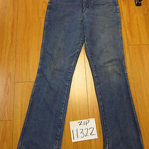Wrangler 945nav Usa Grunge Jean Tag 34x36 Meas 31x35 Zip11322 Photo