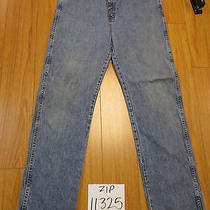 Wrangler 96501ds Grunge Jean Tag 36x34 Meas 35x34 Zip11325 Photo