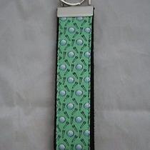 Wrist Keychain Made With Vineyard Vines Golf Fabric on Webbing Key Fob Photo