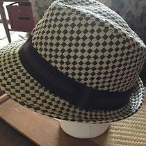 Wyatt Smyth Unisex Hat Two Tone Beige Brownweave Well Made Clean Photo