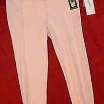 X by Gottex Size M/78 Yoga/workout Pants Retail 77 Light Blush Pink Photo