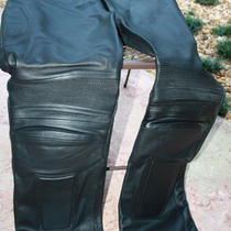 X Element Leather Motorcycle Pants Photo