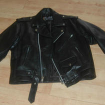 X Element Leather Motorcycle Riding Jacket Size 46 Photo