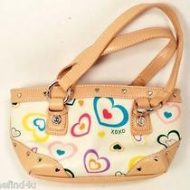 X0x0 Handbag Purse Hearts & Heart Studs Grommets Photo