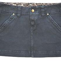 X2 by Express Women's Black Denim Jean Mini Skirt Size 2 Photo