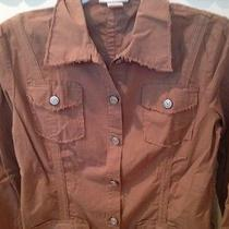 Xcvi Brown Jacket Small Photo