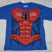 Xl 14/16 Youth T-Shirt Marvel Spider-Man  Comics Amazing Ultimate Peter Parker Photo