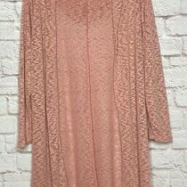 Xl/1x/2x/3x New Blush Pink Hoodie Cardigan Sweater Duster Beach Cover Photo