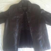 Xl Black Womens Marc New York Leather Jacket Dupont Thermolite Plus Insulation Photo