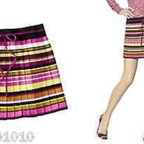 Xl Girls Missoni for Target Multi-Color Stripe Pleated Skirt Gift Photo