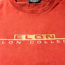 Xl Jansport Burgundy Elon College Embroidered Long Sleeve Shirt Photo