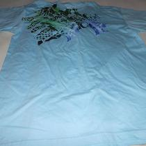 Xl Men's Hurley Short Sleeve T-Shirt Regular Fit Cotton Nwt Bright Light Aqua Photo