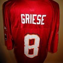 Xl Reebok Tampa Bay Buccaneers Brian Griese Bucs Football Jersey Shirt  Photo