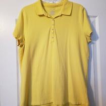 Xl St John's Bay Yellow Polo Shirt  Photo