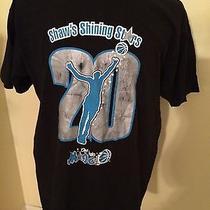 Xl Vtg 90s Brian Shaw Orlando Magic Shining Stars Basketball Black T-Shirt Photo
